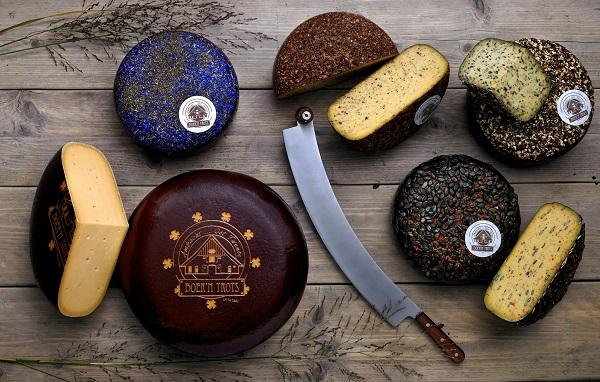 Bauer und stolz Käse