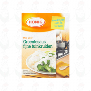 Honig Mix voor Groentesaus Fijne Tuinkruiden Voordeelpak 150g