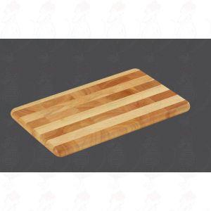 Tranchierbrett 33 x 21 x 2 cm , Gummibaumholz