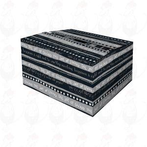 Liefer-Box Schwarz Box Weihnachtswünsche