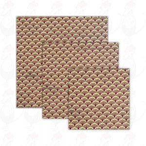 3er-Pack | Bienenwachswickel Kiwi - Käsewickel - Dooek| 20x20*25x25*30x30cm