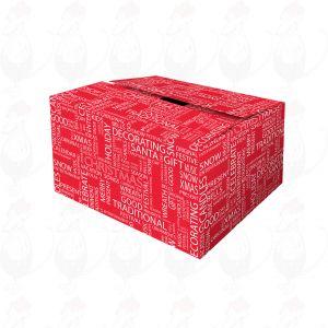 Liefer-Box Red Box Weihnachtswünsche