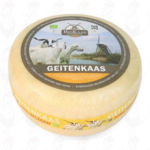 Bio Ziegenkäse | Ganzer Käse 5,4 Kilo | Premium Qualität