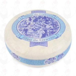Bleu de Graven - niederländischen Blau Schimmel Käse | Ganzer Käse 3,5 kg | Premium Qualität