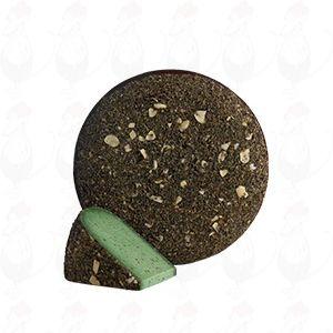 Bauer und stolz Grüner Pesto
