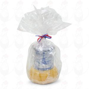 Geschenk Die Bauern Kilo - Goudawaffeln in Delft Blue Blech