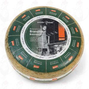Brennnesselkäse Gouda Biodynamische Käse - Demeter | Ganzer Käse 5 Kilo