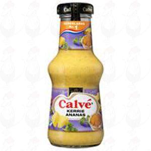 Calvé Curry- und Ananassauce 250 ml.