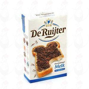 Schokoladenstreusel Milch De Ruiter - Chocoladehagel Melk - 380 g