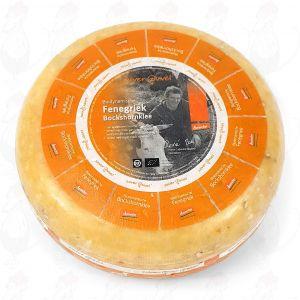 Bockshornklee Gouda Biodynamische Käse - Demeter | Ganzer Käse 5 Kilo