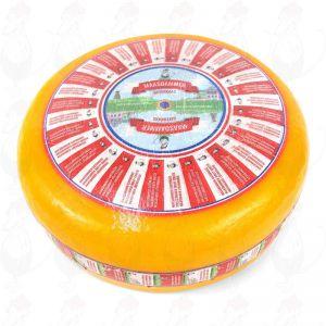 Maasdamer - Löcherkäse | Ganzer Käse 12,5 Kilo | Premium Qualität