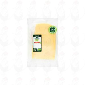 Schnittkäse Jung Gereifter organisch käse 50+ | 200 gram in Scheiben