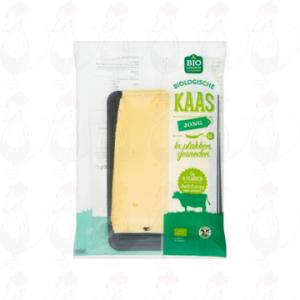 Schnittkäse Jung organisch käse 48+ | 190 gram in Scheiben
