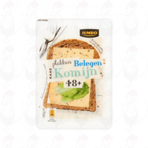 Schnittkäse Kümmel Gereifter goada käse 48+ | 190 gram in Scheiben