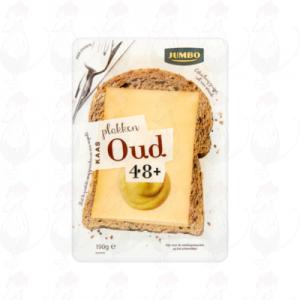 Schnittkäse Alte goada käse 48+ | 190 gram in Scheiben