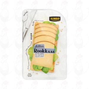 Schnittkäse geräucherter Käse 45+ | 150 gram in Scheiben