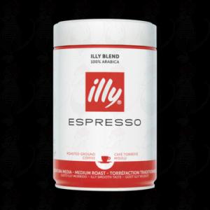 illy Espresso Roasted Ground Coffee 250g