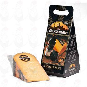 Old Amsterdam Käse mit Geschenkbox - +/- 1 kilo käse