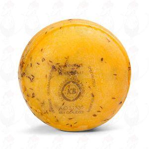Gouda 1 Pfund Bauernkäse Kümmel, 1 Pfund  | 400 Gramm | Premium Qualität