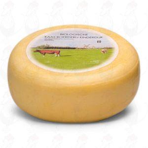 Bio Käse Jung gereifter -  Kinderdijk | Ganzer Käse 5,4 Kilo | Premium Qualität