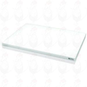 Käse-Schneidebrett Professional Plastic Weiß 450x330x20 mm