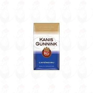 Kanis Gunnink Cafeinevrij Koffie snelfiltermaling
