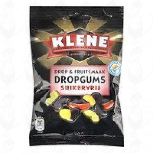 Klene Drop & Fruitsmaak Dropgums Suikervrij | 100 gram