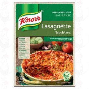 Knorr Wereldgerechten Lasagnette Napoletana 228g