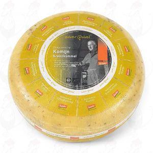 Kreuzkümmelkäse Gouda Biodynamische Käse - Demeter | Ganzer Käse 5 Kilo