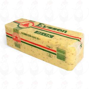 Geschmolzene crustless Gouda Käse Kreuzkümmel 20+ | Premium Qualität