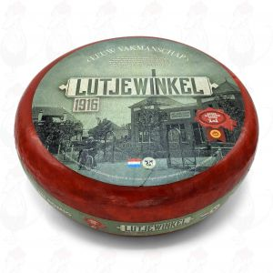NH Lutjewinkel 1916 cremig-robust | Ganzer Käse 16 Kilo