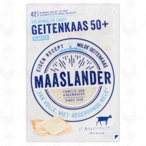 SchnittkäseMaaslander Ziegenkäse 50+ | 140 gram in Scheiben