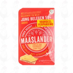 SchnittkäseMaaslander Jung Gereifter 50+ | 300 gram in Scheiben