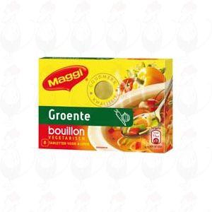 Maggi Groente bouillon vegetarisch 8 tabletten - 80 gram