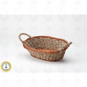 Käse Basket Braun 26x18x8