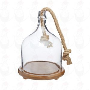 Artesà Serving Cloche (Glas) , 25x34cm