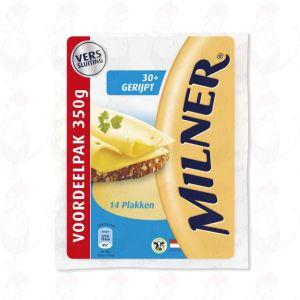 SchnittkäseMilner Gereifter 30+ | 350 gram in Scheiben