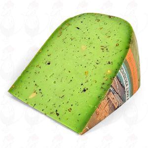 Зеленый сыр песто  Качество премиум