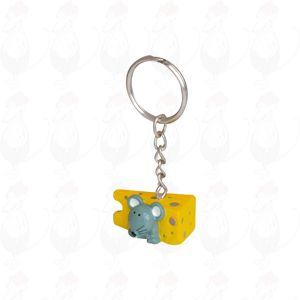 Schlüsselanhänger Käse und mouse