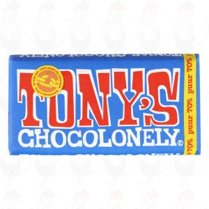 Tony's Chocolonely Puur - 180gr.