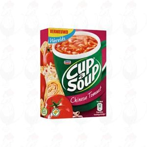 Unox Cup a Soup Chinese tomaat 3 x 18 gram
