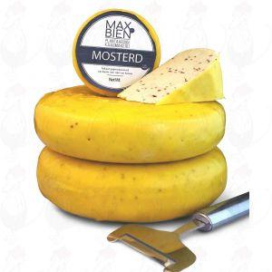 Veganer Senfkäse | Max Bien | Ganzer Käse 1,2 Kilo