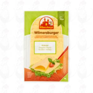 SchnittkäseWilmersburger mit Kräuter | 150 gram in Scheiben