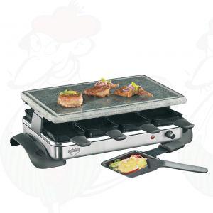 Steingrill und Gourmet-Set 8 Personen Exclusive Küchenprofi