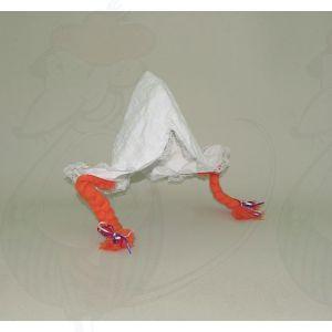 Hul mit Orange Zöpfen