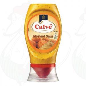 Calvé Saus Squeeze Mosterd 250ml