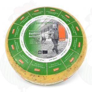Basilikum-Knoblauch Gouda Biodynamische Käse - Demeter | Ganzer Käse 5 Kilo