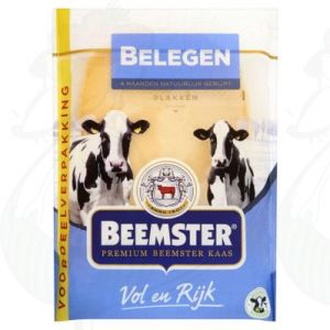 SchnittkäseBeemster Premium Gereifter 48+ | 250 gram in Scheiben