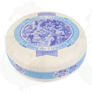 Bleu de Graven - niederländischen Blau Schimmel Käse | Ganzer Käse 3,5 Kilo | Premium Qualität