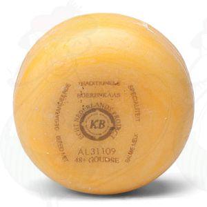 Gouda Bauernkäse Naturel, 1 Pfund  | 400 Gramm | Premium Qualität